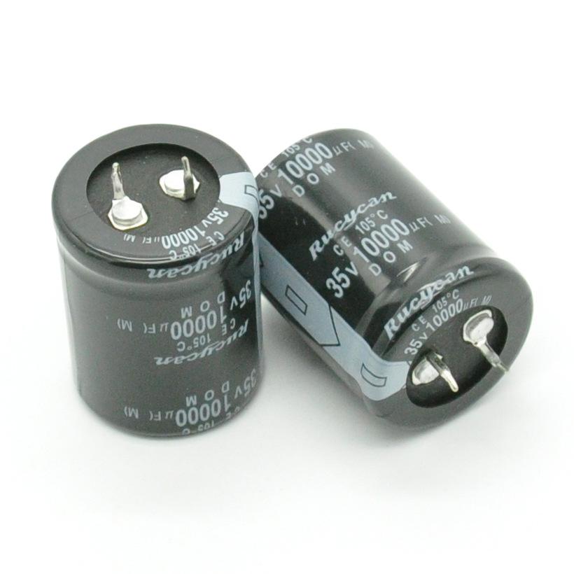 Tụ hoá Tụ điện phân chất lượng cao 35V10000UF khối lượng 30 * 40 tụ nhôm điện phân