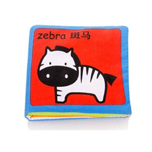 Sách vải hình động vật cho bé Itty-bitty