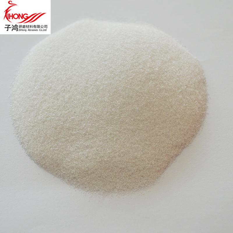 ZIHONG Vật liệu mài mòn Corundum trắng mài mòn corundum trắng cho axit và kiềm đúc bột corundum trắn