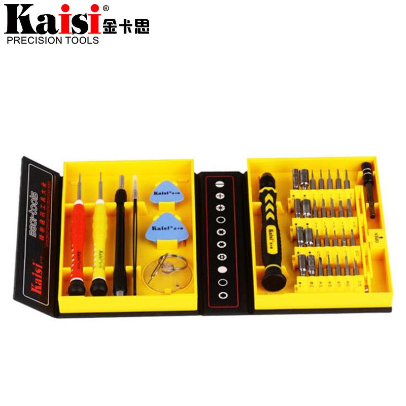 KAISI Thị trường công cụ Bộ tuốc nơ vít KS-3801 Bộ Apple Apple kê công cụ sửa chữa điện thoại di độn