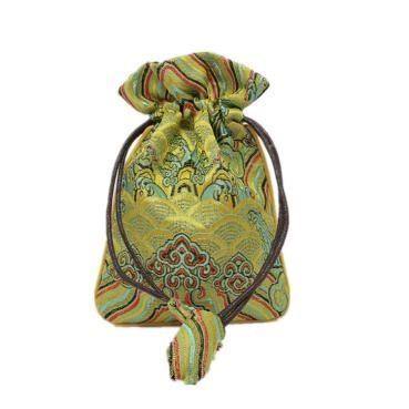 18 năm mới đơn giản Cẩm nang nhỏ, túi vải xếp hàng bài trang sức Trang tay chuỗi nhận gói túi Nhung