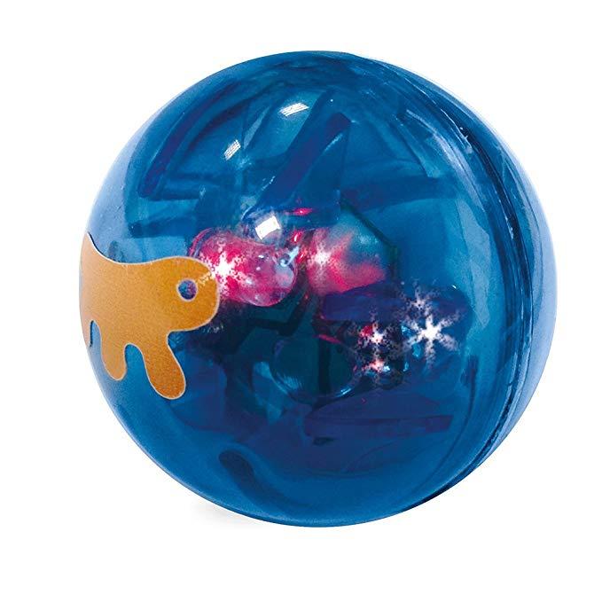 Đồ chơi cho mèo trái banh màu xanh - PA 5205  .