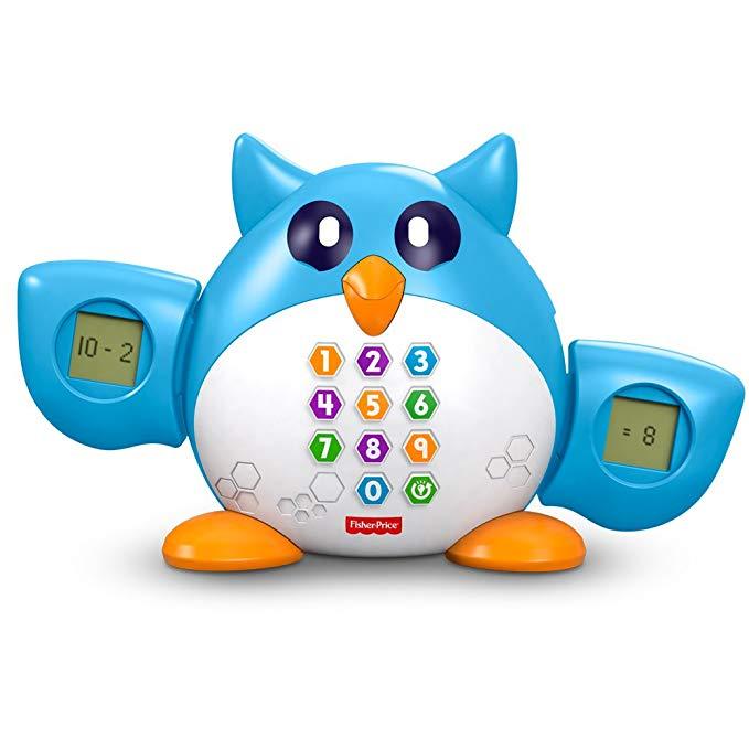 Fisher Price Fisher Discovery Học đồ chơi toán học Tiến sĩ Owl FDF08