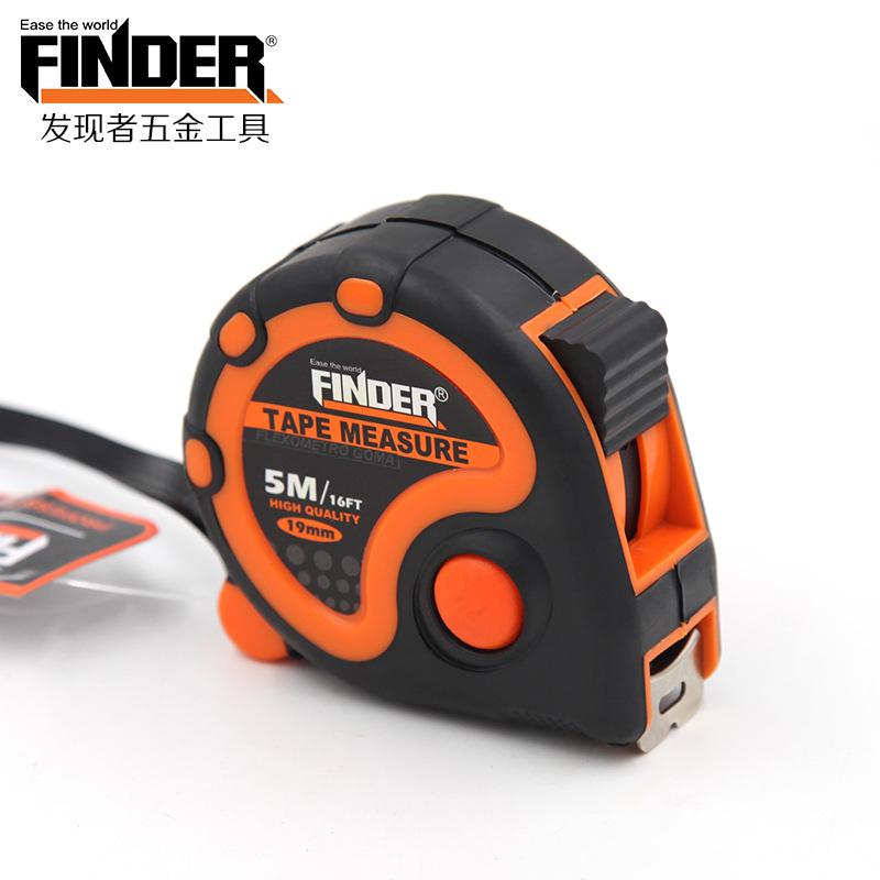 FINDER Dụng cụ đo lường Khám phá cửa hàng dụng cụ đo phần cứng băng thép đo 3 m, 5 m, băng đo ốc sên