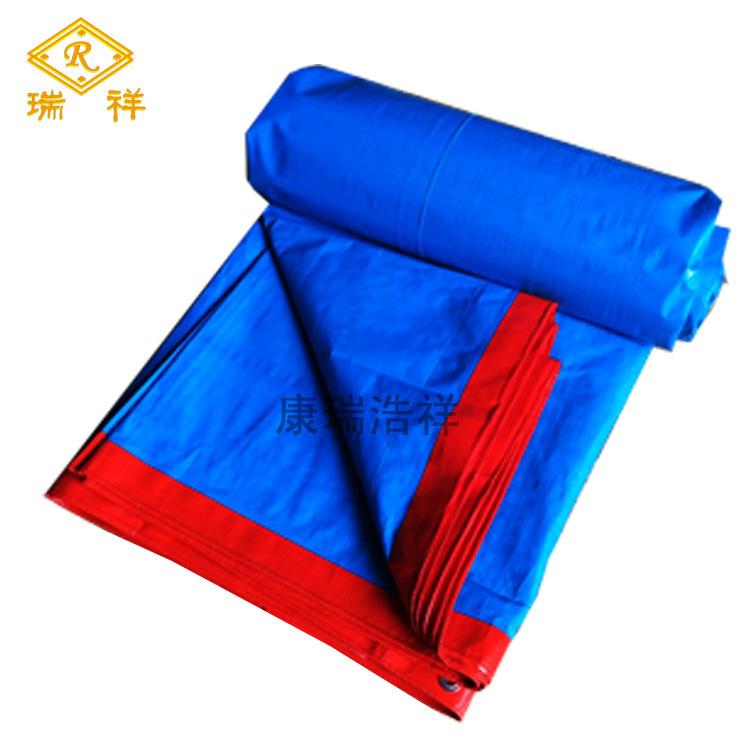BDLS Bạt nhựa Các nhà sản xuất quảng cáo màng nhựa PE hai mặt màu xanh da trời màu xanh da trời màu