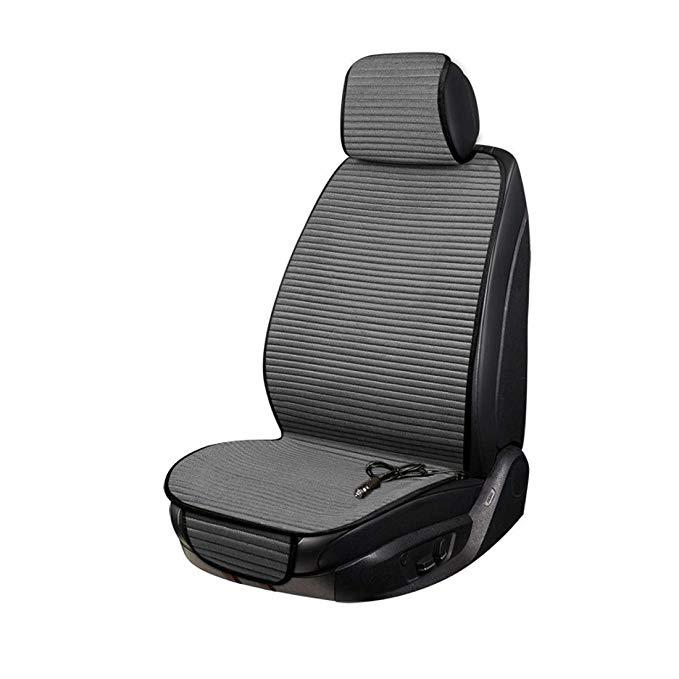 Đệm ngồi giữ ấm bằng điện dành cho xe hơi .