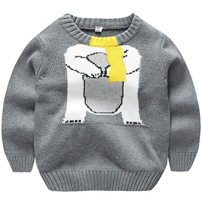 AOSENDUN Ossen Lá Chắn Mùa Thu và mùa đông cotton trẻ em áo len trùm đầu mô hình Phim Hoạt Hình của