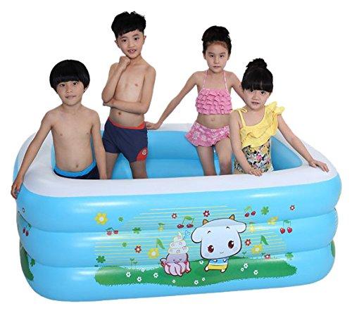 Sea Rain bể bơi trẻ sơ sinh Sheep Sheep Pool Pool Water Đồ chơi trẻ em Bể bơi với Inflator 1202-1 Bl