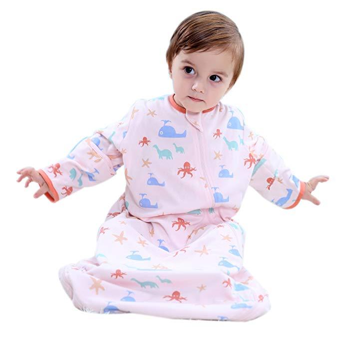 Túi ngủ vải cotton dễ thương dành cho bé .
