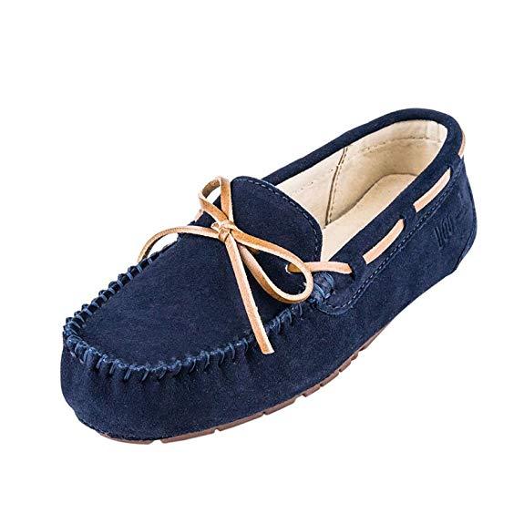 Giày mọi Gommino Bằng Da mềm dành cho Nữ , Thương hiệu : UGG Grand DownUnder