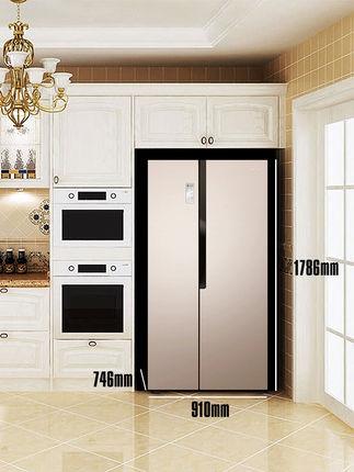 Ronshen  Tủ lạnh  Cửa đôi Ronshen / Rongsheng BCD-632WD11HAP để mở cửa tủ lạnh đôi cửa chuyển đổi tầ