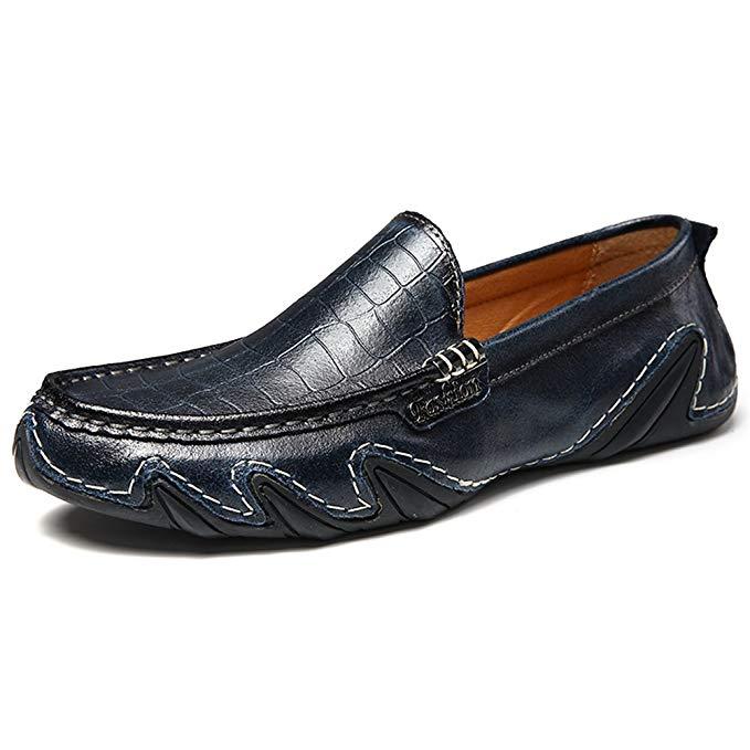Giày mọi Gommino Bằng Da mềm dành nam , Hiệu :  XIMO BULL - SB80-20178-K