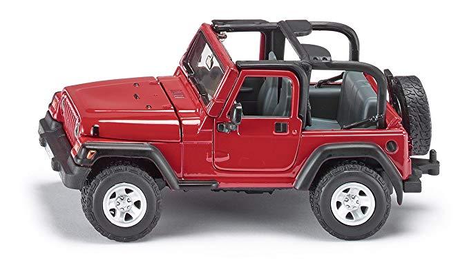 Mẫu xe Đức Jeep Wrangler tỷ lệ 1:32 SKUC4870 SIKU