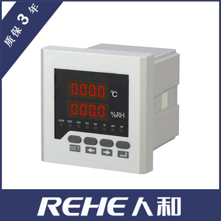 REHE Đồng hồ đo nhiệt độ , độ ẩm Nhà sản xuất dụng cụ điều khiển nhiệt độ và độ ẩm 96 * 96 màn hình