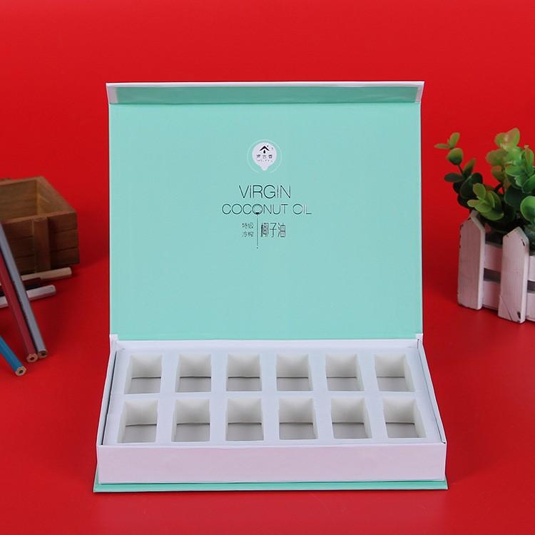 Hộp giấy bao bì Trời đất bìa hộp đóng gói với giá gập. Hộp giấy bìa cứng được chọn hộp mỹ phẩm hộp b