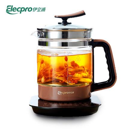 ELECPRO Nồi lẩu điện, đa năng, bếp và vỉ nướng ELECPRO  EY1501C Bình y tế Bình thủy tinh đa năng có