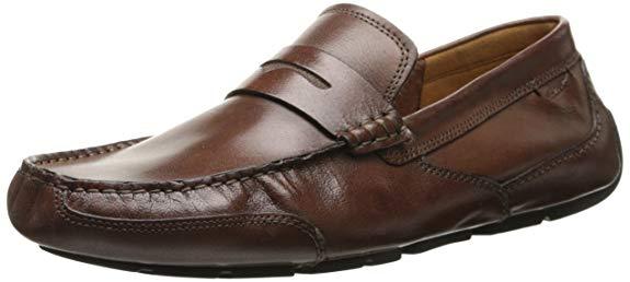 Giày Tây đế bệt bằng Da dành cho Nam , Thương Hiệu : Clarks .