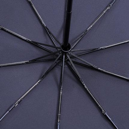 Tự động ô kinh doanh tri gấp gấp đôi lớn người đàn ông và phụ nữ windproof gia cố mở và mưa dual-sử