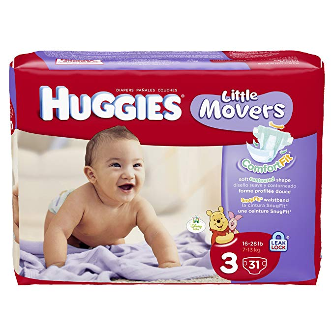 Tả giấy dán HUGGIES mềm mịn cho bé yêu .