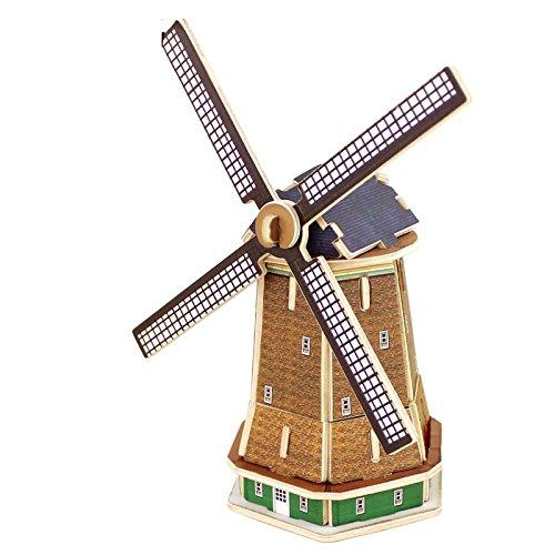 Robotime 3D ghép hình ba chiều giáo dục trẻ em giáo dục sớm đồ chơi bằng gỗ DIY mini thế giới kiến t