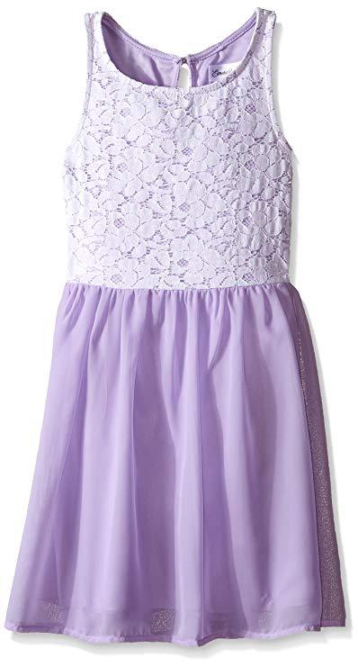 Đầm xòe voan kiểu công chúa dễ thương , dành cho bé gái .