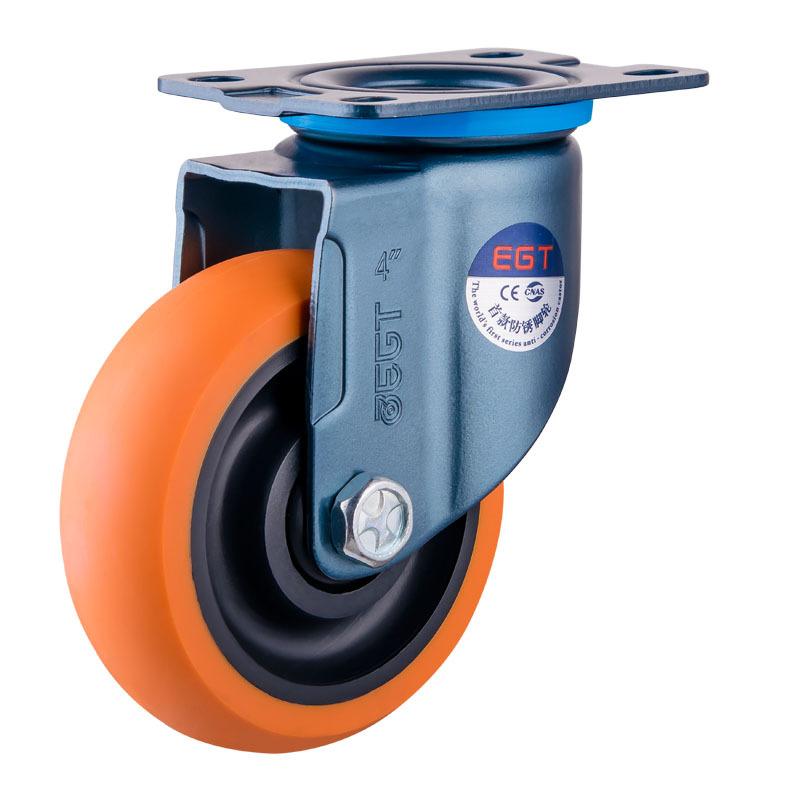 YJL bánh xe đẩy(Bánh xe xoay) Cung cấp bánh xe polyurethane nhẹ / bánh xe vạn năng / bánh xe 3 inch