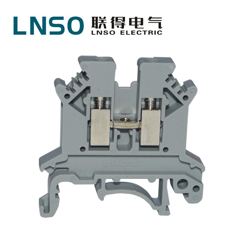 LNSO Cầu đấu dây Domino Khối thiết bị đầu cuối Kết nối thiết bị đầu cuối kết nối vạn năng UK-2.5B VK
