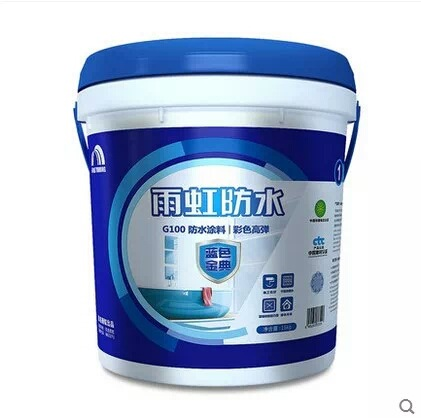 DFYH Sơn Yuhong chống thấm Oriental Yuhong vàng mã xanh G100 màu cao đàn hồi chống thấm sơn phòng tắ