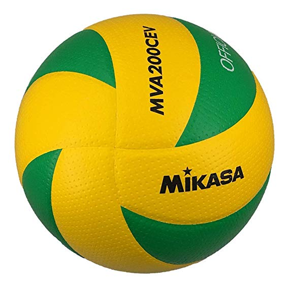 MIKASA Đồ dùng dã ngoại Bóng chuyền MIKASA Micasa số 5 Liên minh châu Âu Quả bóng vàng / xanh MVA200