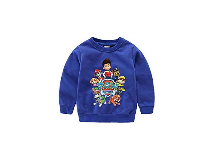 Trẻ em mặc của trẻ em hàng đầu phim hoạt hình của cậu bé cao cổ áo len (MC60736)