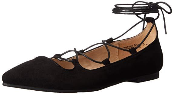 Giày búp bê da mềm dành cho Nữ , Thương hiệu : Chinese Laundry