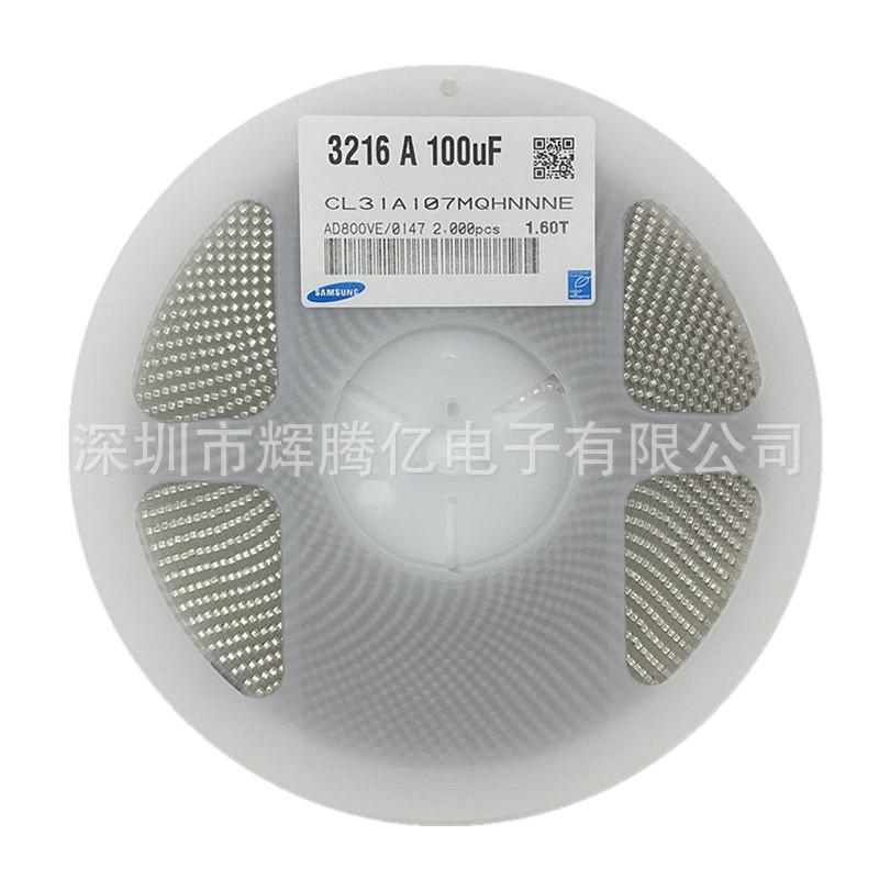 Samsung Tụ Ceramic Chip Tụ 1206 106K 50V 10UF 10% X5R Samsung CL31A106KBHNNNE 3216