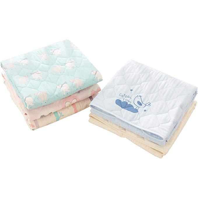 Cottontown Tấm lót chống thấm Khăn trải bàn bằng vải bông cho bé bằng vải bông cách nhiệt không thấm