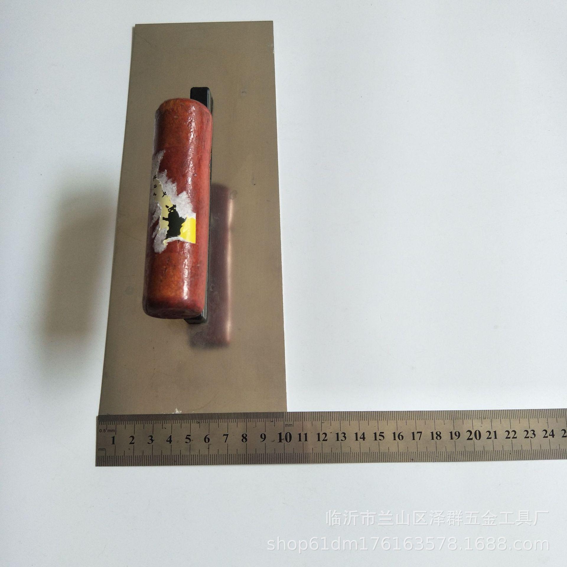 FUNIU Công cụ nghề mộc Thép không gỉ 24 khăn lau dầu dài Trang trí sơn bùn trowel dao làm dụng cụ Cà