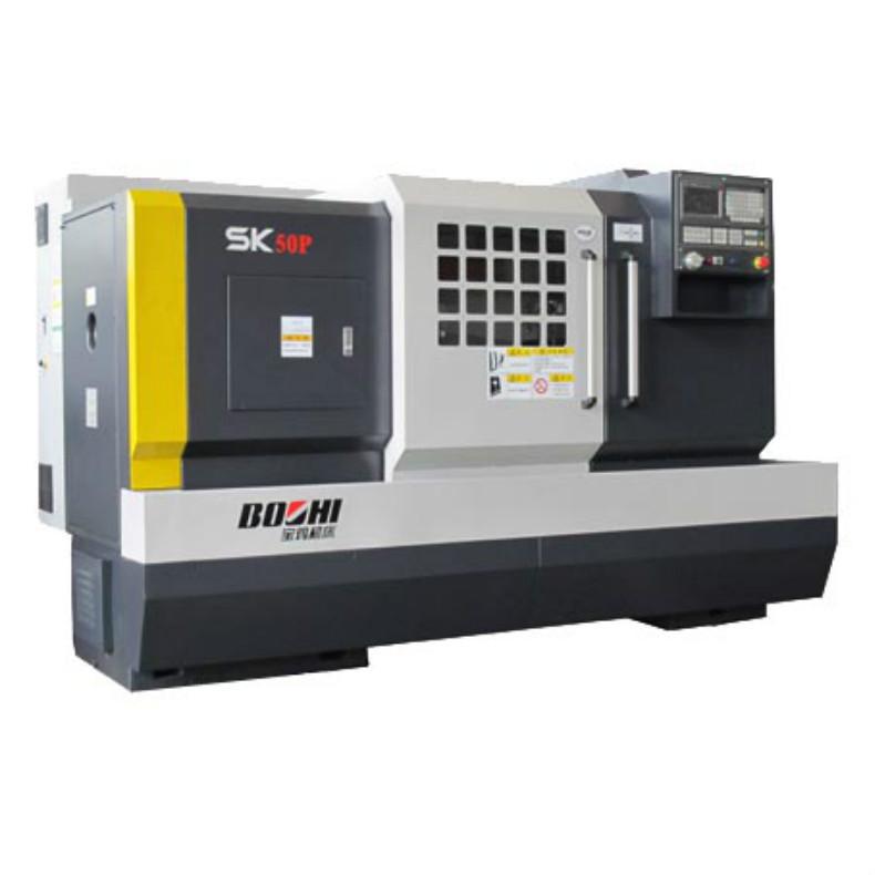 BAOJI Máy tiện CNC Nhà máy sản xuất tóc trực tiếp Máy tiện SK50P máy ngang Baoji máy công cụ CNC máy