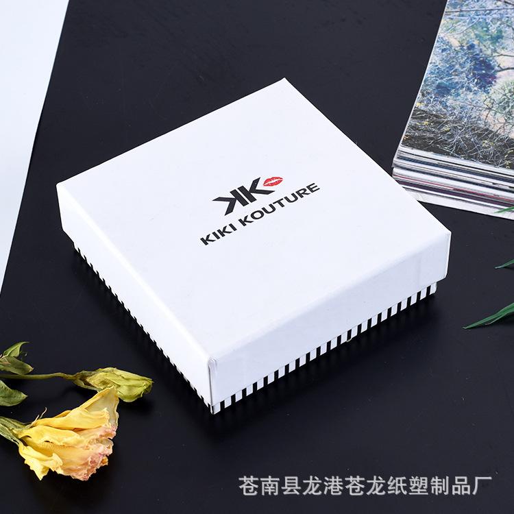 hộp giấy âm dương Tùy chỉnh in màu dây chuyền nhẫn trang sức và nắp hộp quà lưu niệm từ hộp giấy gói