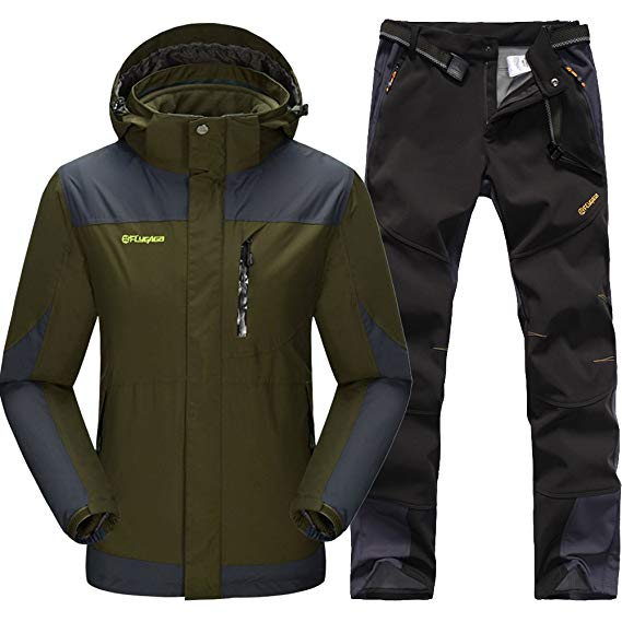 Thời Trang Thể Thao : Bộ gồm Quần và áo khoác thể thao ngoài trời .