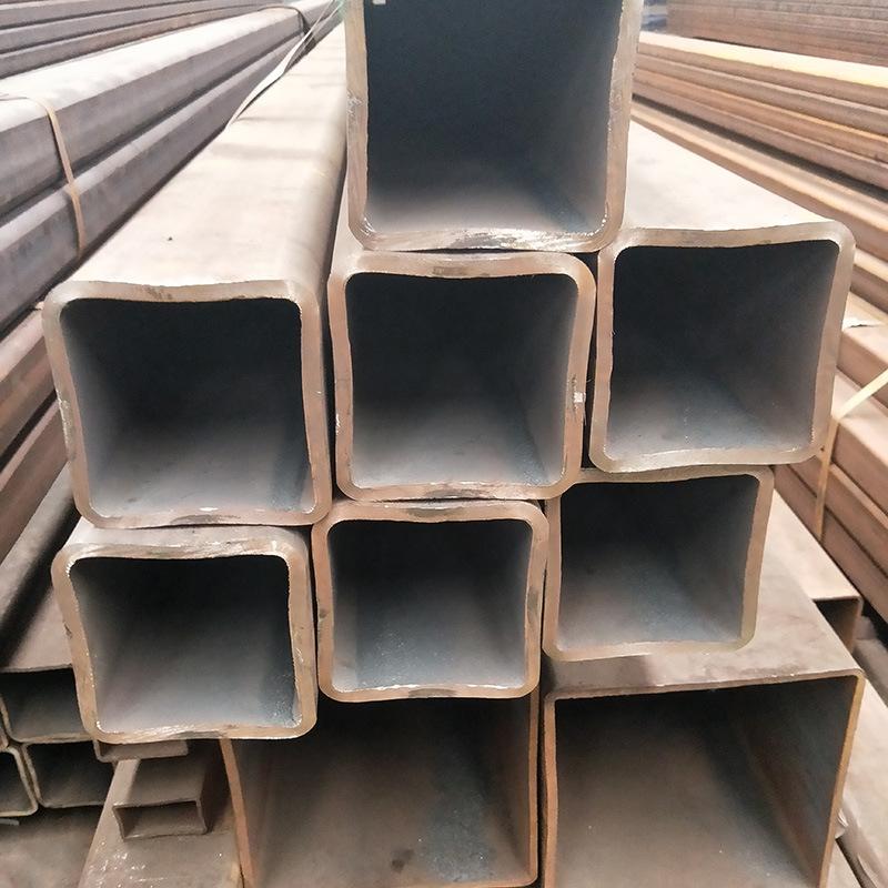 Thị trường sắt thép Sơn Đông bán buôn ống vuông liền mạch Q295B đường kính lớn tường dày ống liền mạ