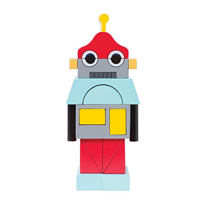 Đồ chơi Manhattan Đồ chơi Manhattan Đồ chơi xếp chồng robot
