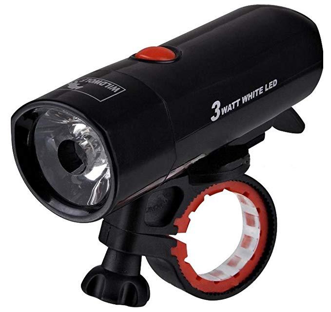 Đèn LED cho xe đạp leo núi .