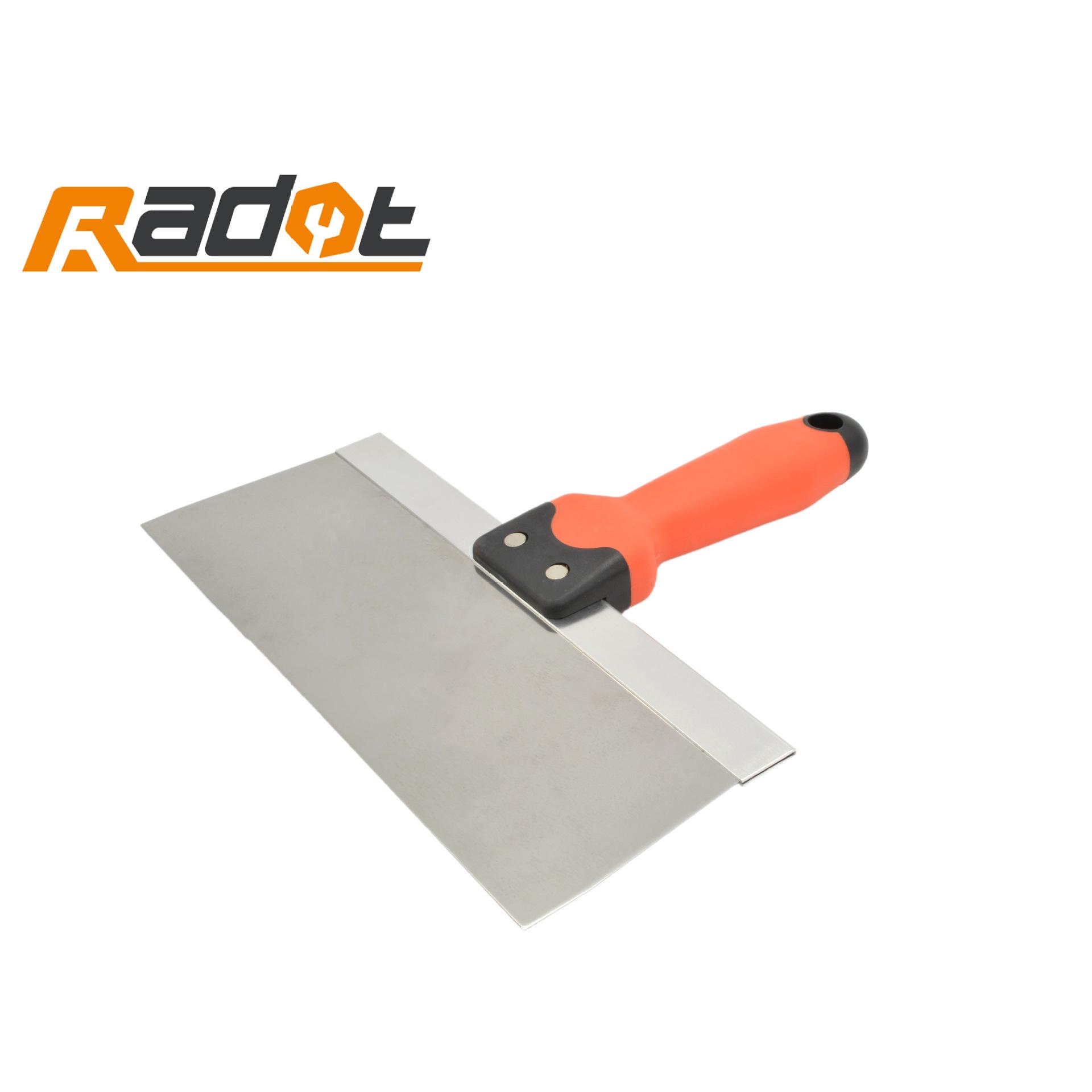 RUIDUOTE Công cụ nghề mộc Tay cầm bằng nhựa hai màu putty dao nhà máy trực tiếp lưỡi dao công cụ xây