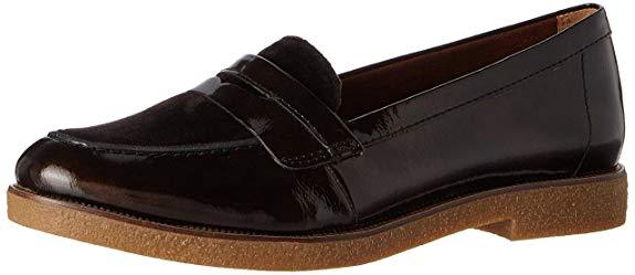 Giày Tây đế bệt bằng Da mềm dành cho Nữ , Thương Hiệu : Tamaris