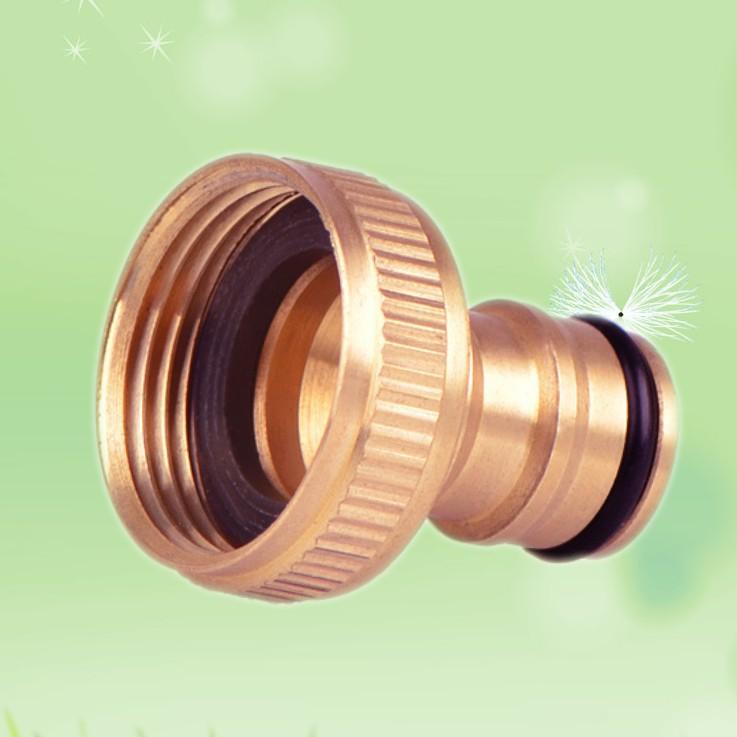 LINGHE Thị trường phụ kiện máy móc Đồng nguyên chất 1 inch bên trong núm vú công cụ làm vườn phụ kiệ