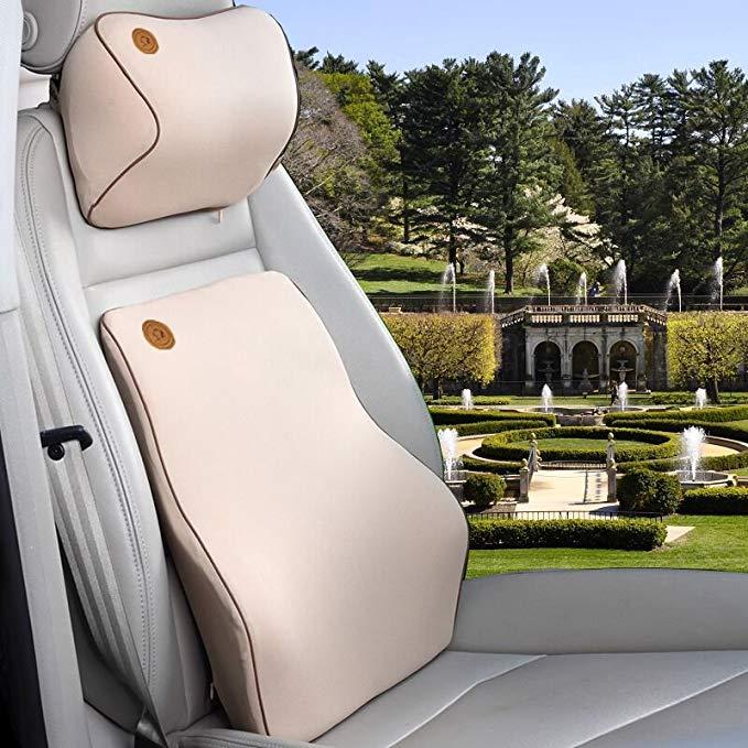 Đệm lót massage Tựa Lưng dành cho Xe hơi .