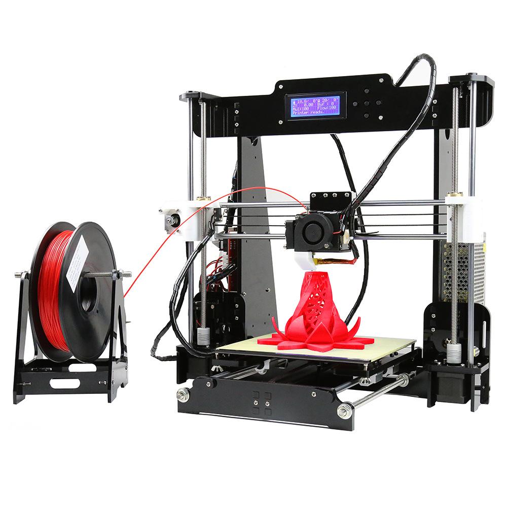Anet Máy in 3D Ngoại thương nóng ba chiều máy in 3d âm thanh nổi a8 máy tính để bàn độ chính xác cao
