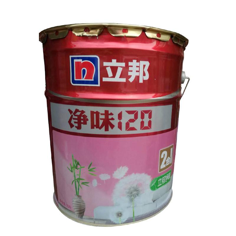 LIBANG Sơn Nippon Paint Net hương vị 120 sơn tường nội thất hai trong một sơn trắng latex 18L