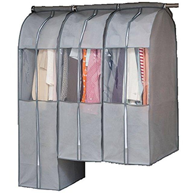 Túi vải không dệt Nhật Bản chống bụi bao gói bưu tủ quần áo sạch túi áo khoác bộ tiếp nhận bộ đồ chố
