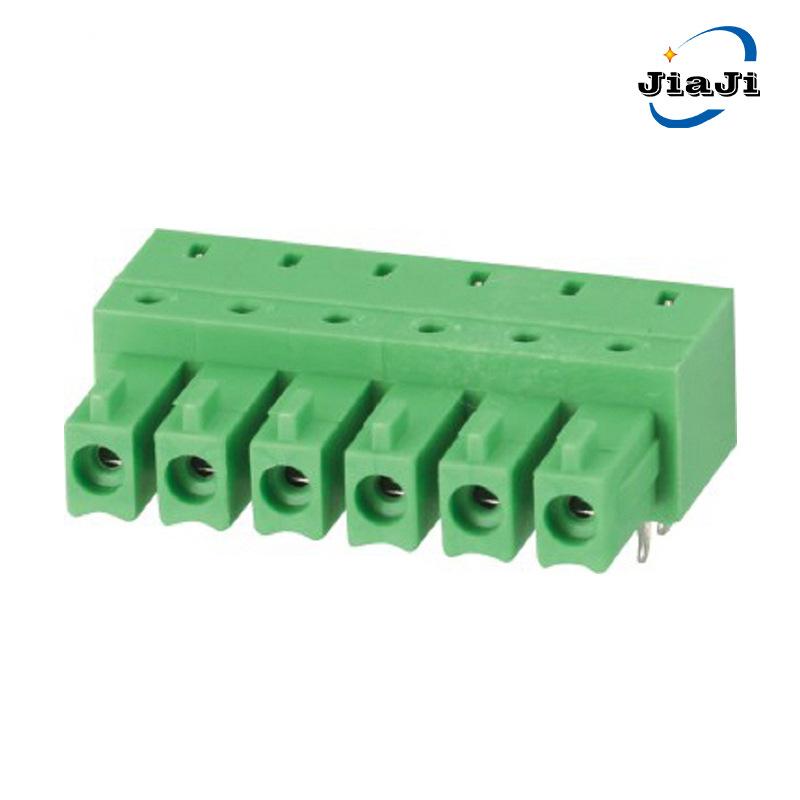 Cầu đấu dây Domino Khối thiết bị đầu cuối 15EDGA khối kết nối 3.81 kết nối không dây cắm trên bo mạc