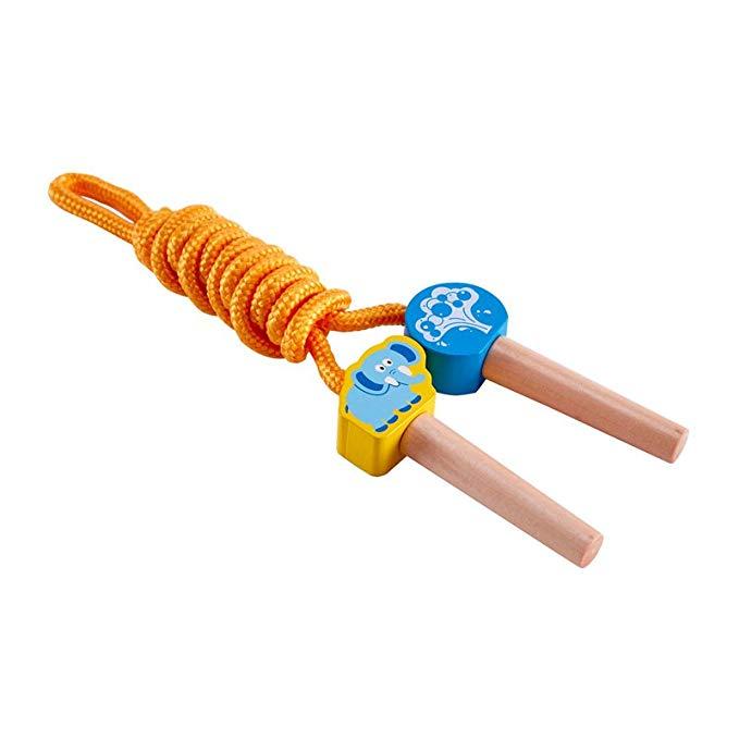 Hape nhảy dây chơi như nhảy dây thể thao ngoài trời trò chơi đồ chơi trẻ em