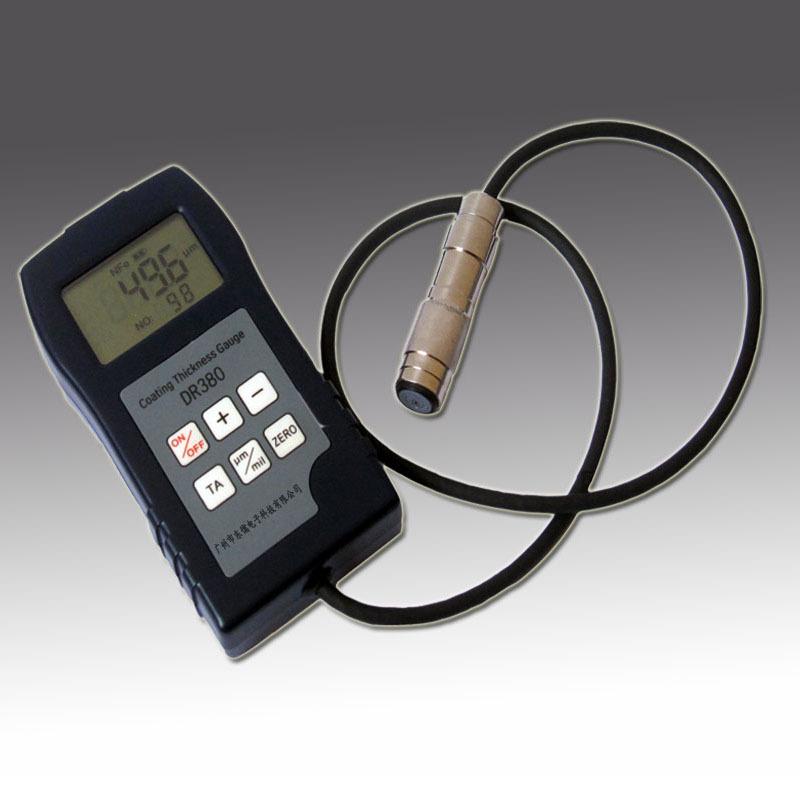 DONGRU Mạ màu Máy đo độ dày lớp phủ DR360 mạ crôm mạ kẽm độ dày màng sơn độ dày kiểm tra độ dày màng